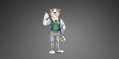 Mascot Design – School Tiger