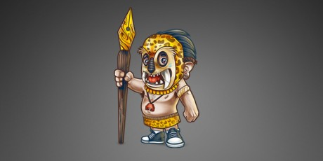 Mascot Design – Tribe Character