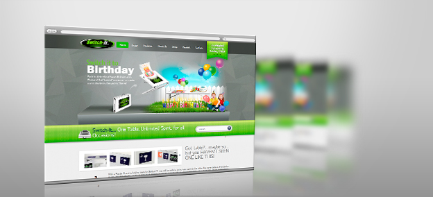 Website Design – Switch it tables