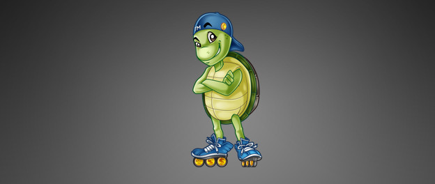Mascot Design – Turtle Motion